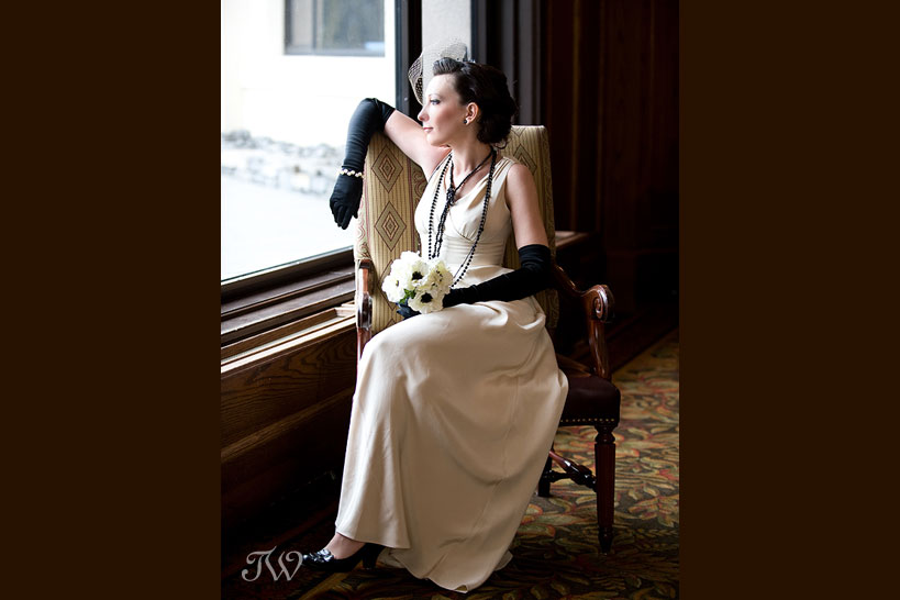 Chateau-lake-louise-wedding-photographer-bride-in-chair
