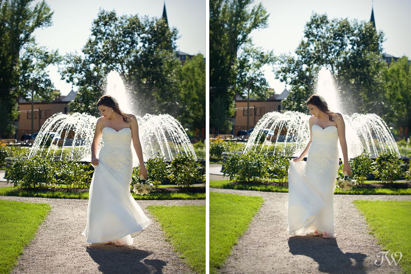 Calgary-wedding-photographer-at-hotel-arts-bride-central-park