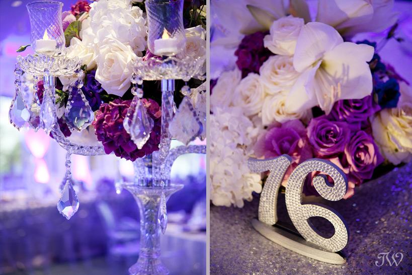 Photographer-in-Calgary-purple-centerpieces-la-fleur
