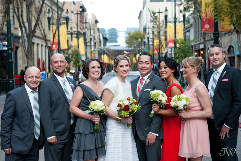 Art-gallery-of-Calgary-wedding-photographs-bridal-party