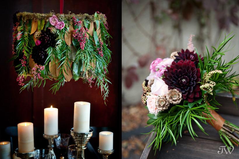 Photographer-in-Calgary-Calgary-wedding-photographer-floral-chandelier