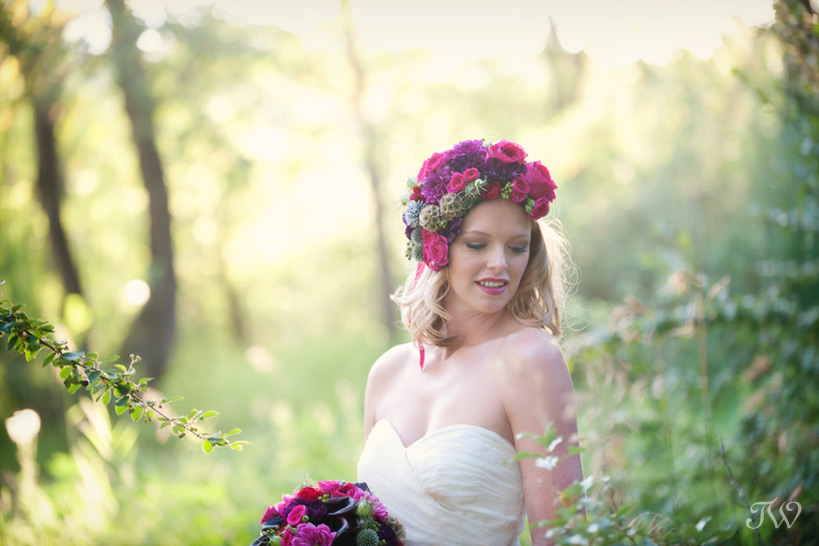 Photographer-in-Calgary-Calgary-bride-wearing-flower-crown