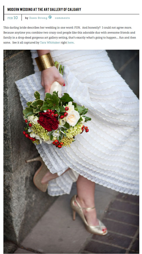 Art-Gallery-Wedding-Style-Me-Pretty-Bridal-Gown-bouquet