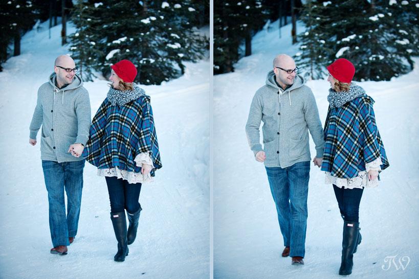 lake-louise-engagement-pictures-hudson-bay-blanket-16