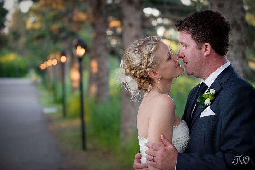 wedding-hair-bow-valley-ranch-wedding
