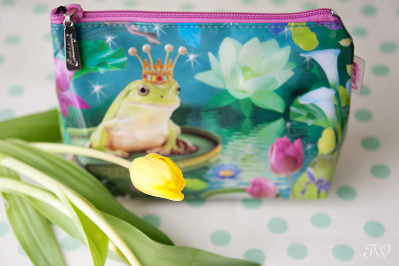frog prince make-up bag as bridesmaid gifts Tara Whittaker Photography