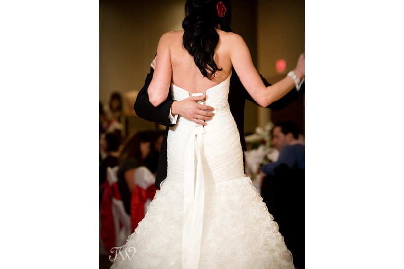 first dance at wedding receptions captured by Tara Whittaker Photography