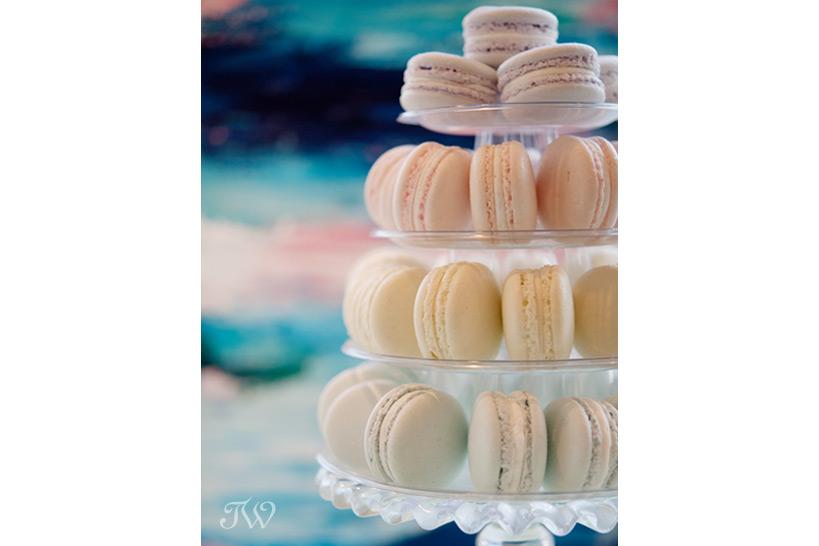 pastel macaron tower Tara Whittaker Photography