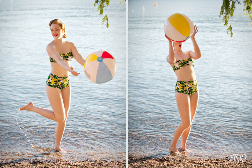 vintage beach outfits captured by Tara Whittaker Photography
