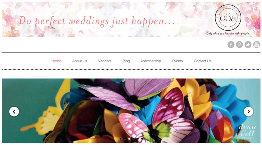 how to plan a wedding Calgary Bridal Alliance homepage