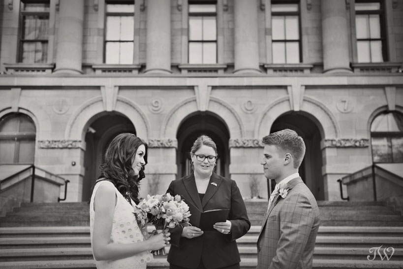Calgary elopement captured by Tara Whittaker Photography