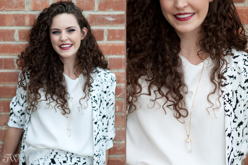 gold pendant necklace captured by Tara Whittaker Photography