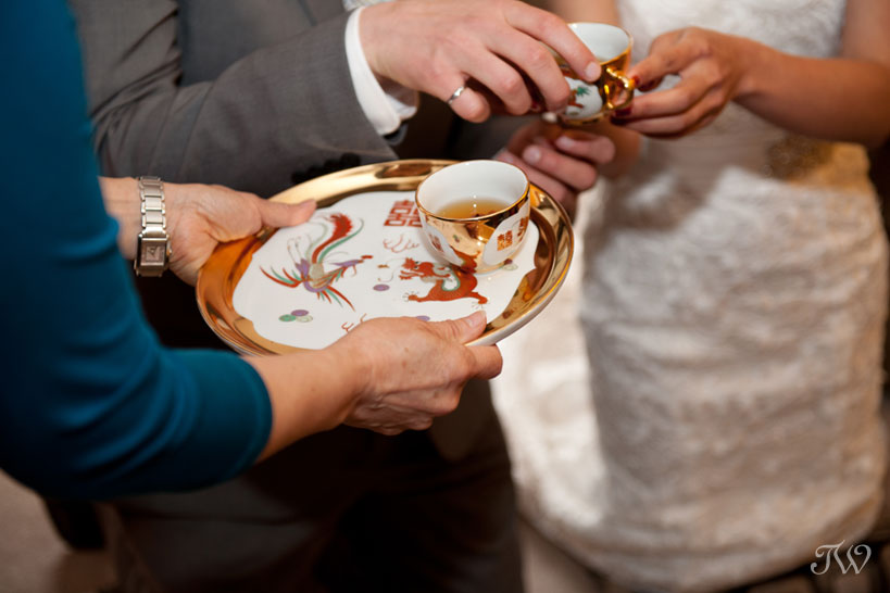 Chinese wedding tea ceremony captured by Tara Whittaker Photography