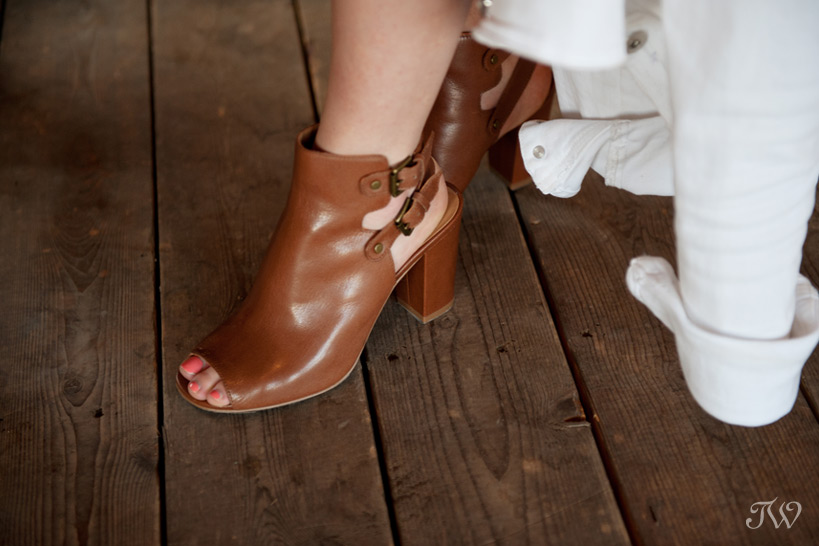 chunky heels and fashion tips at the Calgary Stampede