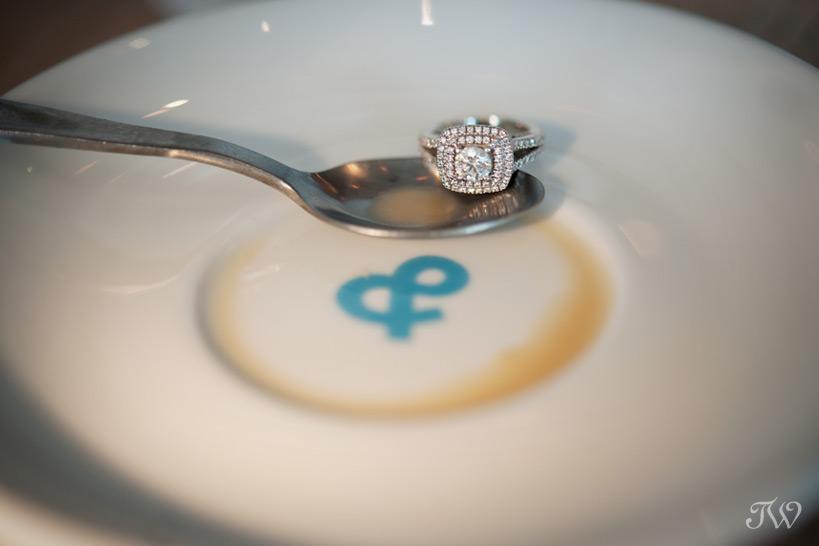 engagement ring captured by Tara Whittaker Photography