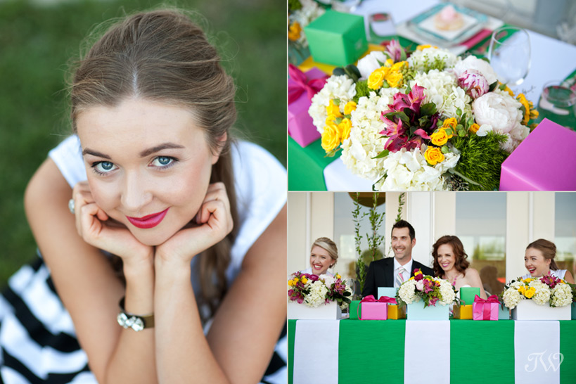 colourful wedding ideas captured by Tara Whittaker Photography