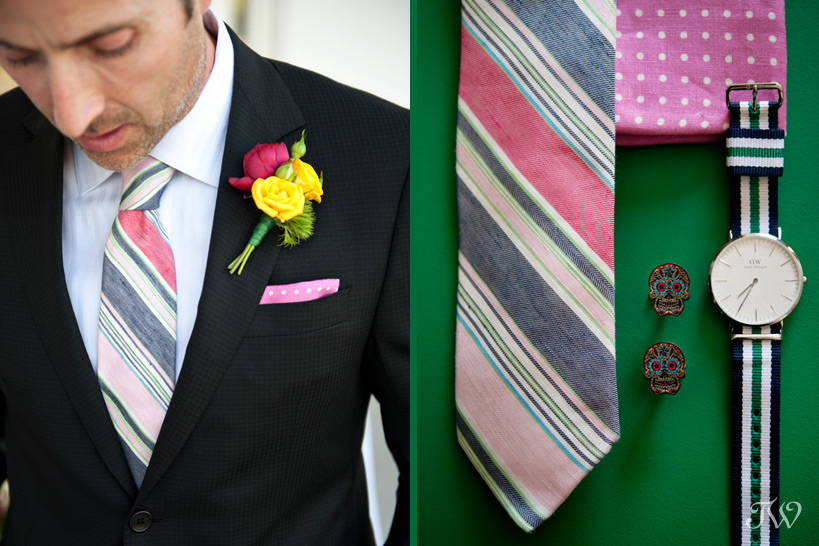 preppy groom's attire captured by Tara Whittaker Photography