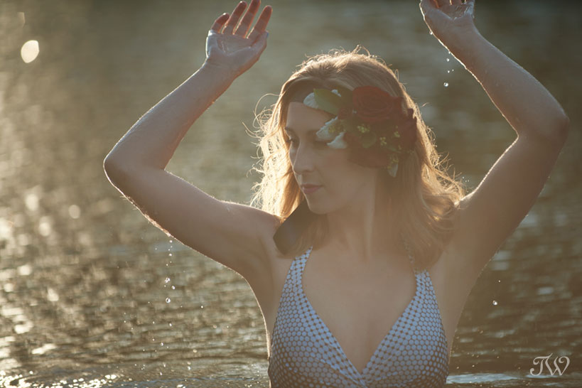 vintage-inspired swimwear from Swimco captured by Tara Whittaker Photography