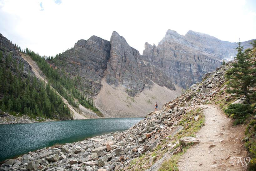 Travel Alberta Lake Agnes captured by Tara Whittaker Photography