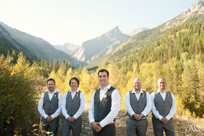 Mountain wedding photos in Fernie British Columbia captured by Tara Whittaker Photography