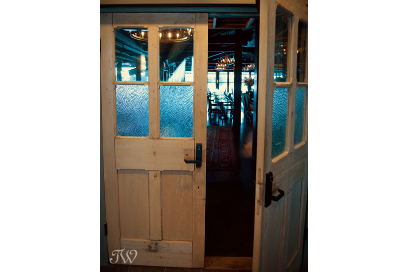Entrance to The Lake House captured by Tara Whittaker Photography