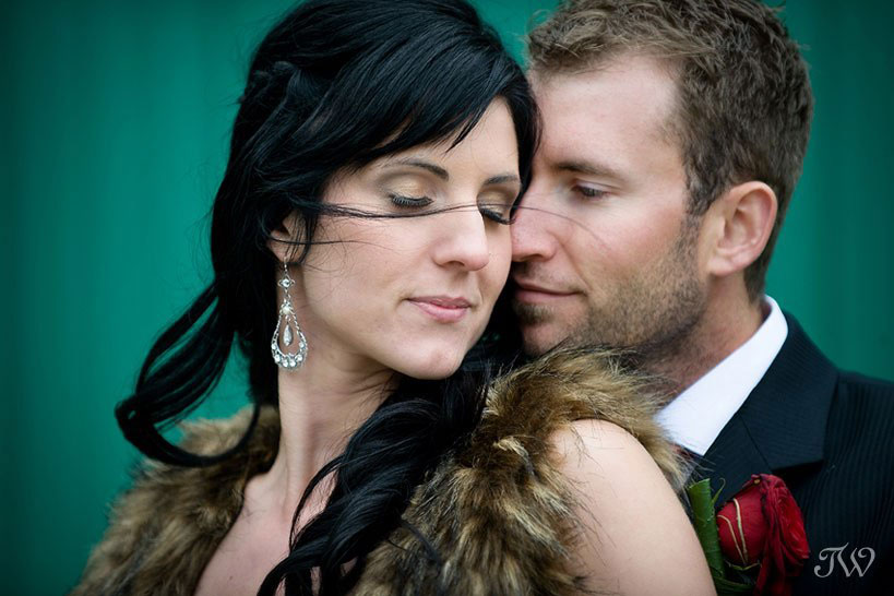 bride & groom at their Priddis Greens wedding captured by Tara Whittaker Photography
