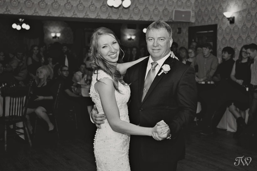 Father/daughter dance at Heritage Park captured by Tara Whittaker Photography