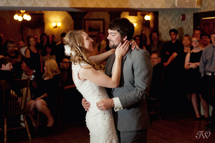 first dance at Heritage Park captured by Tara Whittaker Photography