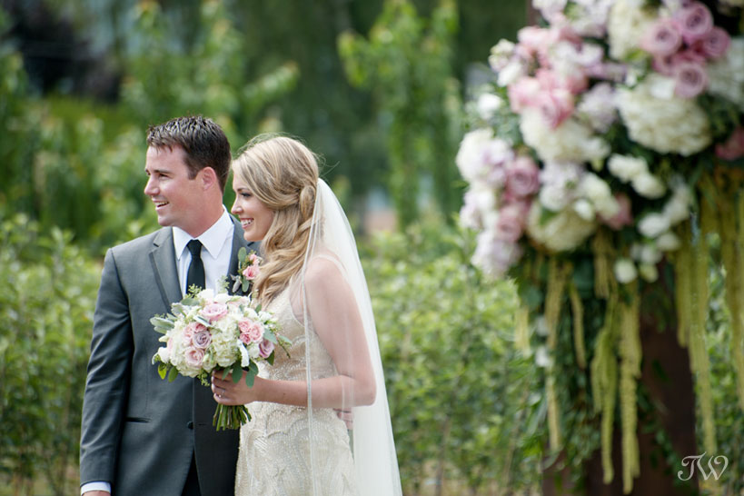 wedding advice from a Kelowna bride captured by Tara Whittaker Photography