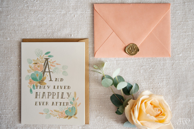 wedding stationery from Rifle Paper Co. captured by Tara Whittaker Photography