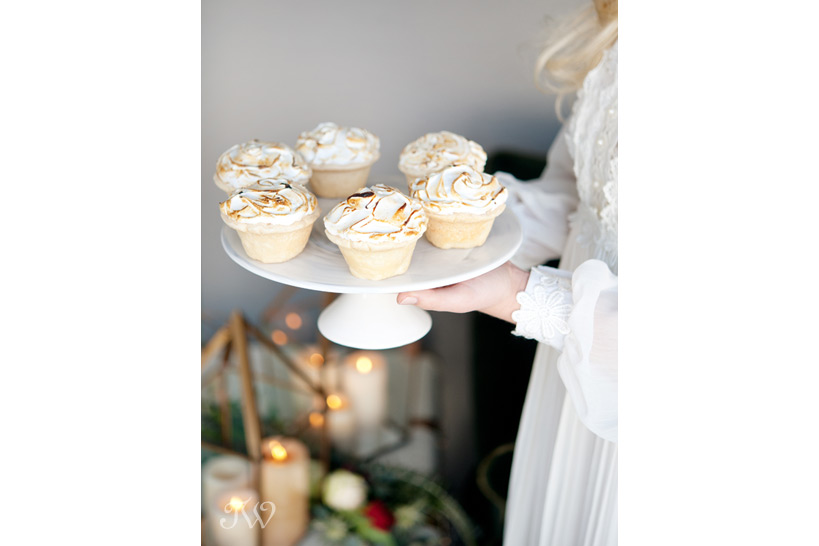 Mini lemon meringue pies from Crave for Valentine's Day captured by Tara Whittaker Photography