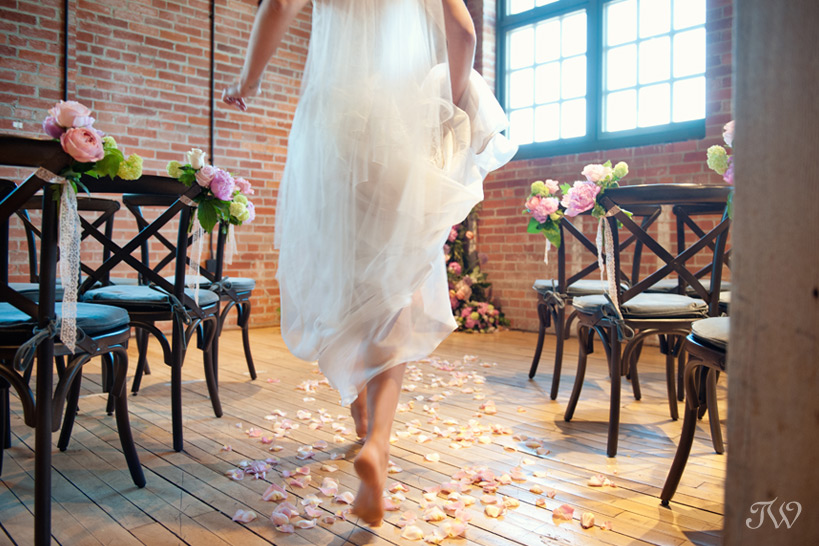 bride at Charbar wedding captured by Tara Whittaker Photography
