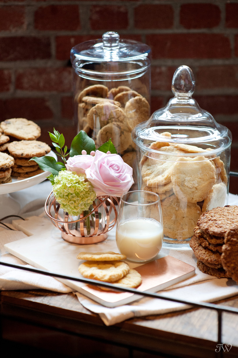 cookie bar by Sidewalk Citizen styled by Tara Whittaker Photography
