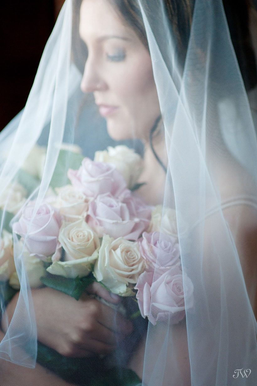 bridal portrait at a Charbar wedding captured by Tara Whittaker Photography