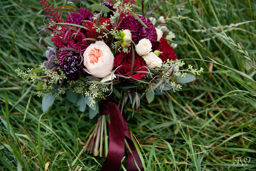 Bouquet by Willow Flower Co. captured by Tara Whittaker Photography