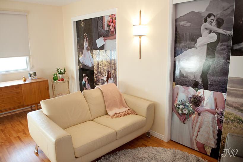 Meeting space for Calgary wedding photographer Tara Whittaker