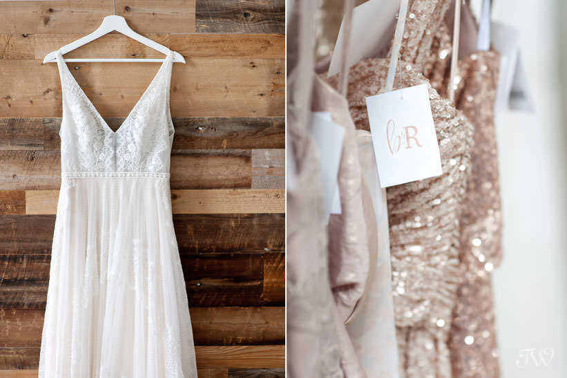 couture bridal gowns at Blush & Raven captured by Tara Whittaker Photography