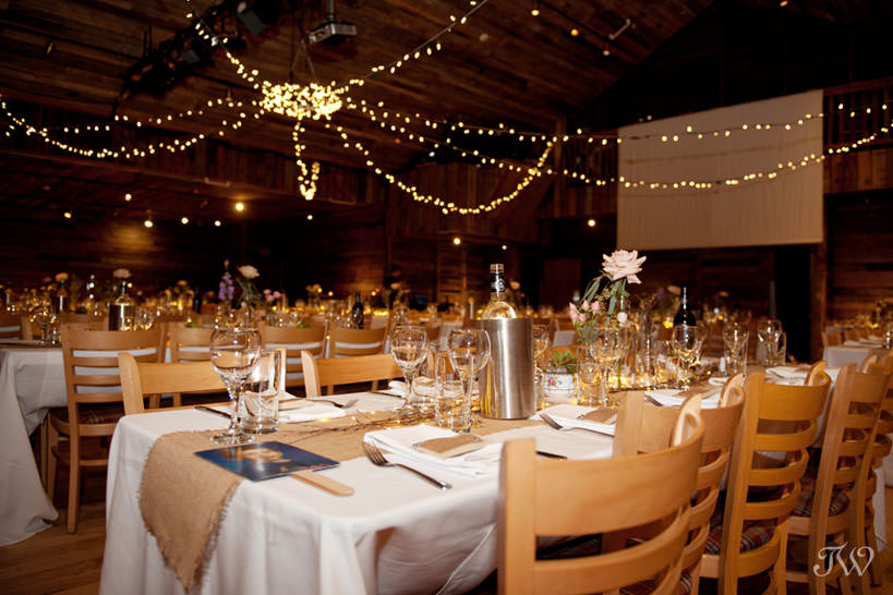 Inside Cornerstone Theatre Canmore wedding locations captured by Tara Whittaker Photography