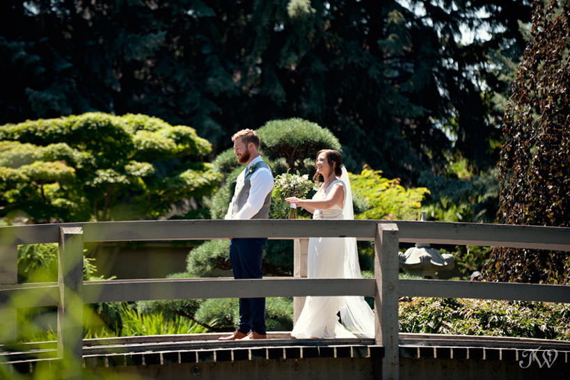 First look at Kasugai Gardens kelowna wedding photos captured by Tara Whittaker Photography
