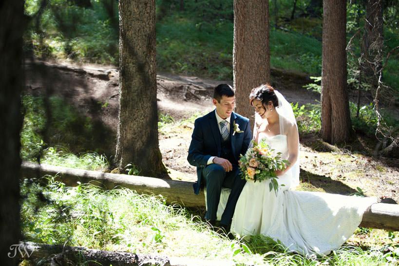 Banff bride and groom share their best wedding advice Tara Whittaker Photography