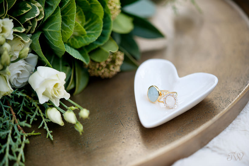 Rings from Adorn captured by Calgary wedding photographer Tara Whittaker