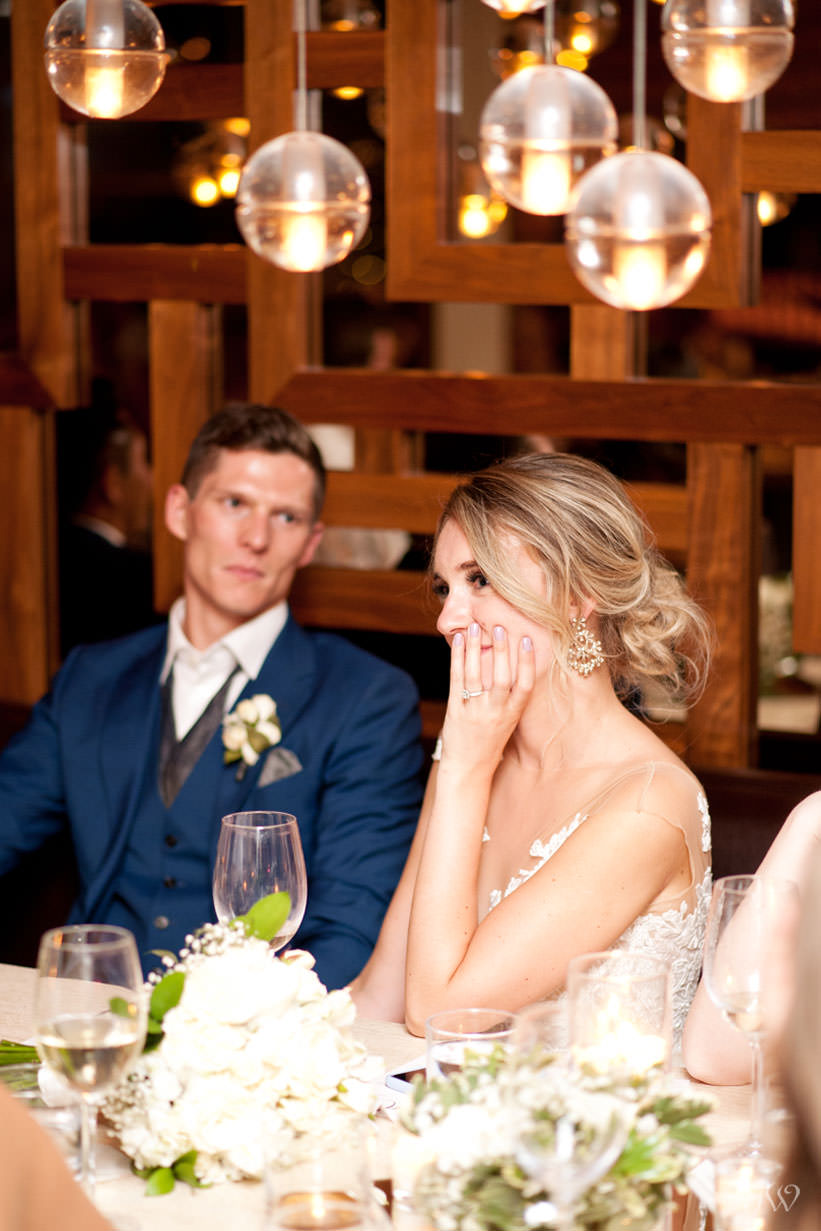 Alloy Restaurant wedding captured by Calgary wedding photographer Tara Whittaker
