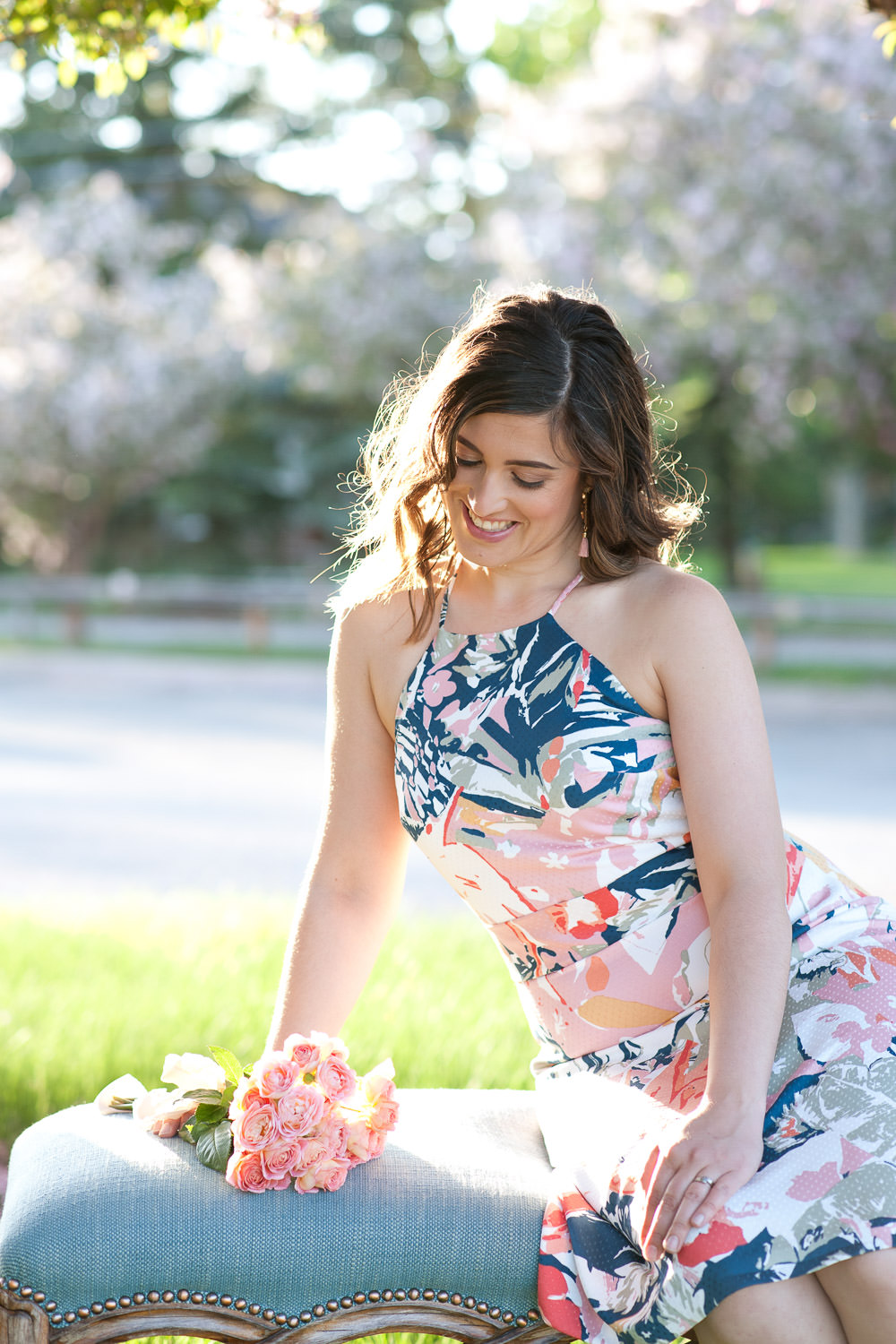 Janelle from Flowers by Janie captured by Calgary Lifestyle Photographer Tara Whittaker