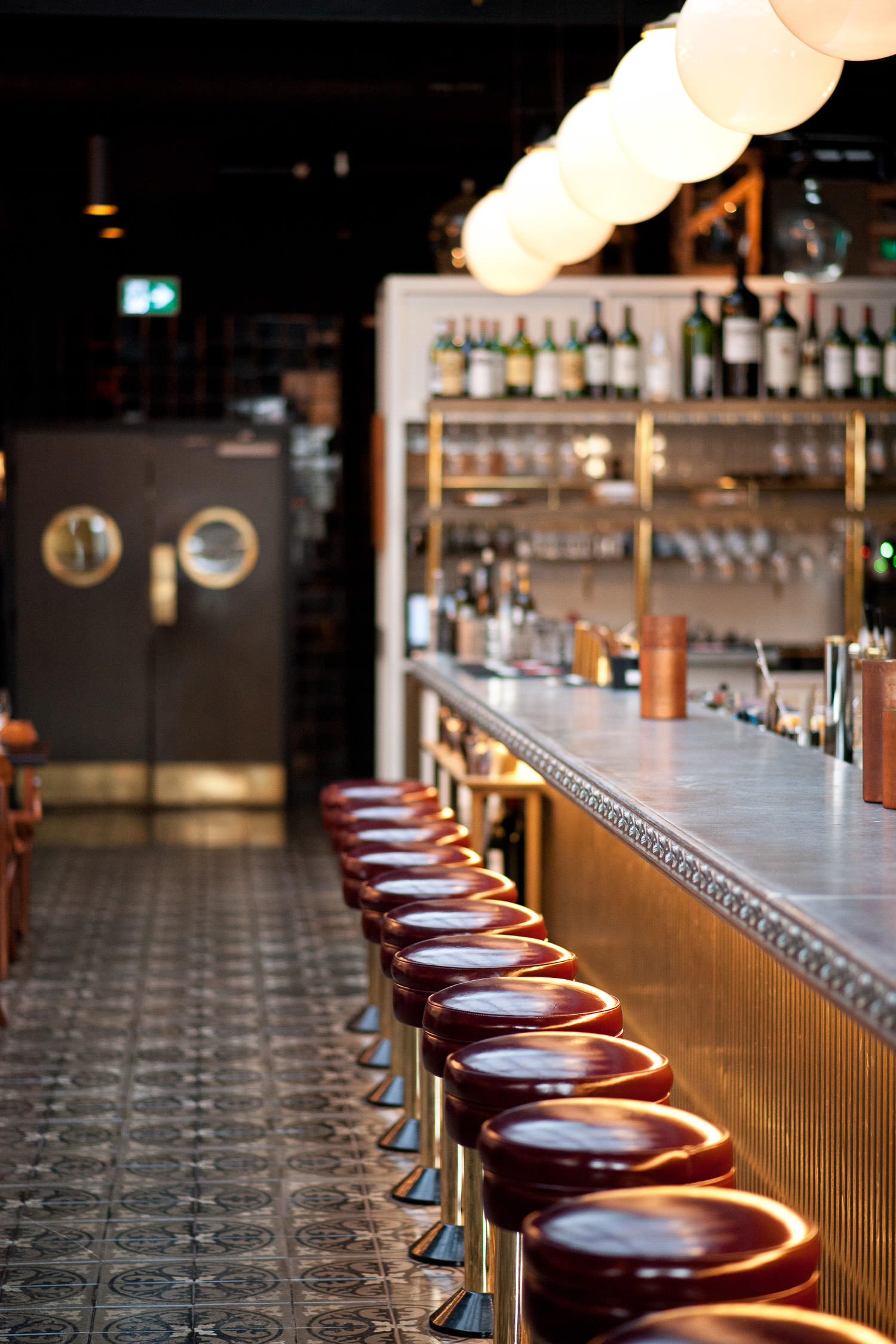 Bar inside Royale on 17th Avenue captured by Tara Whittaker Photography
