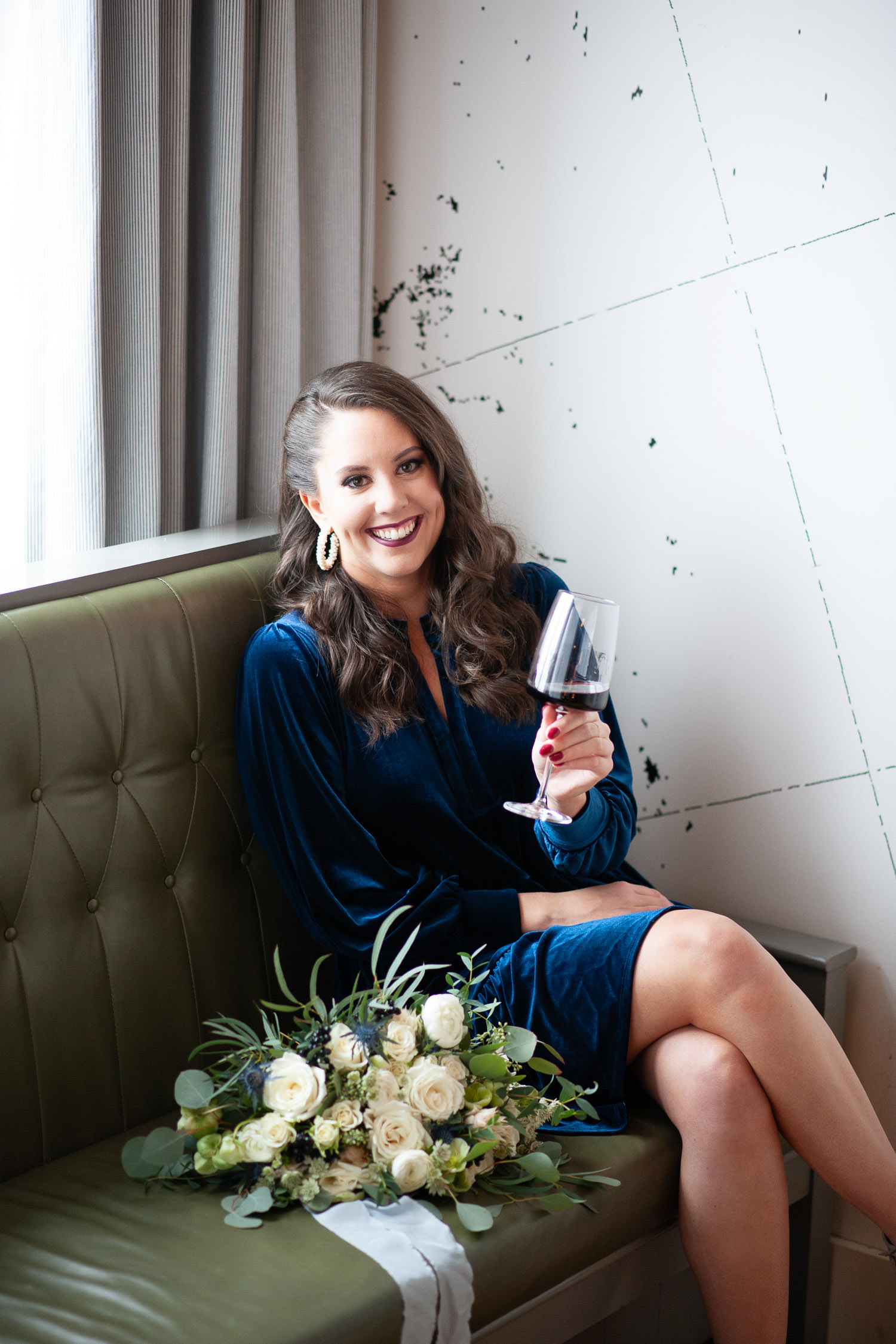 Evelyn from 206 Event Co. at The Nash captured by Calgary wedding photographer Tara Whittaker