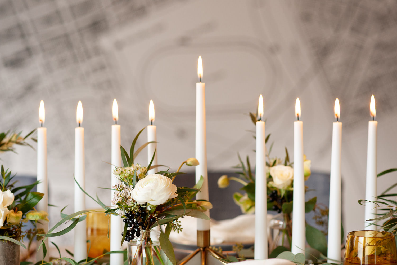 Menorah for Hanukkah captured by Calgary wedding photographer Tara Whittaker