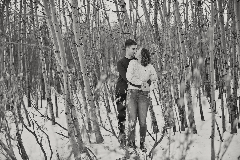 Edworthy Park engagement session with Calgary Wedding Photographer Tara Whittaker