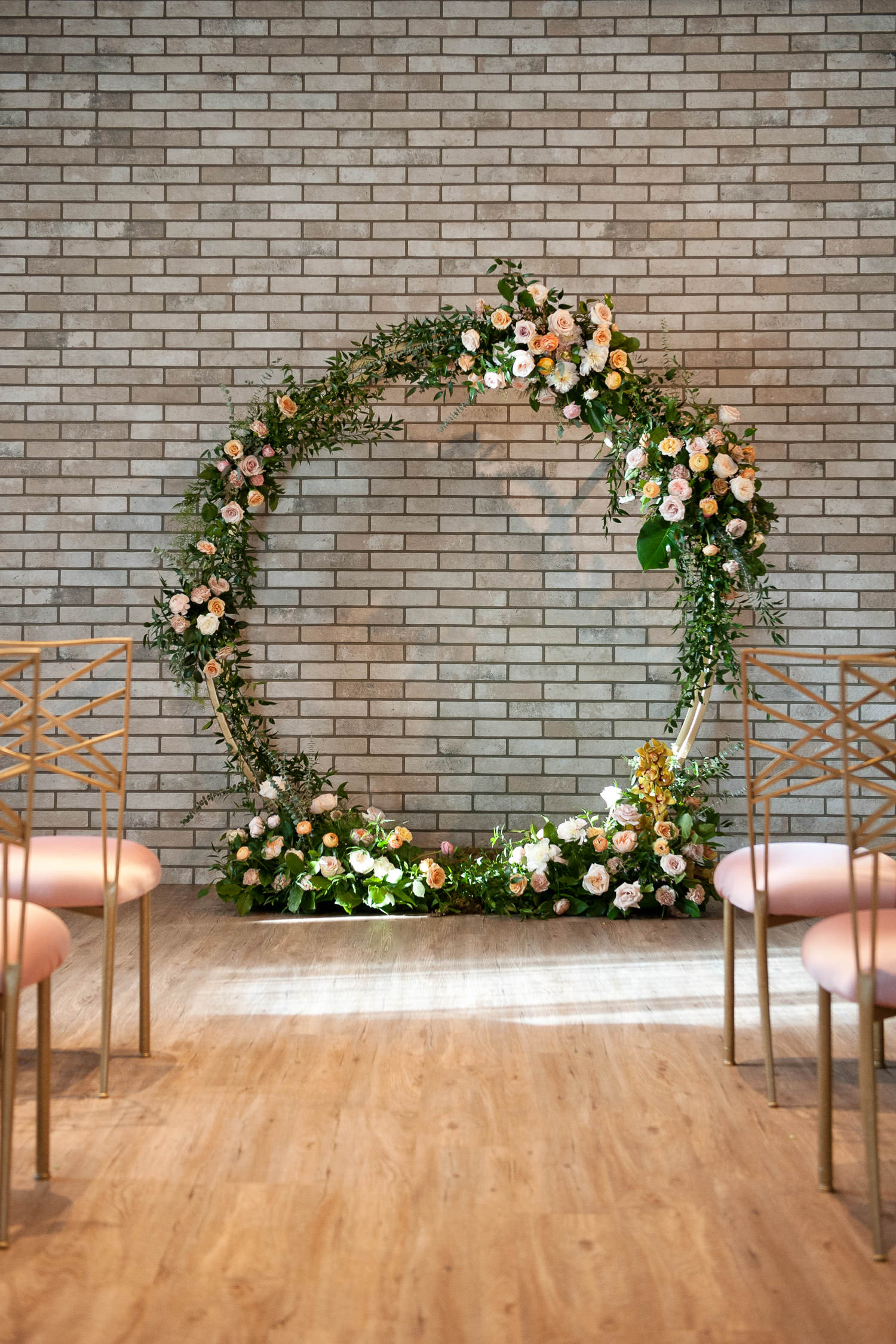 Floral arch by Flowers by Janie captured by Tara Whittaker Photography