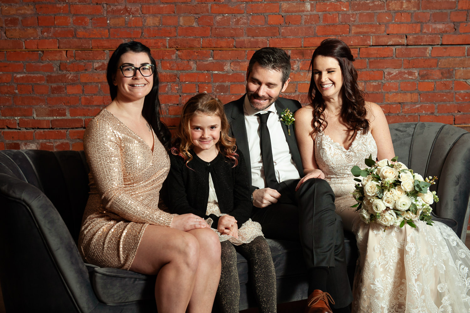 Family photos at Venue 308 captured by Tara Whittaker Photography