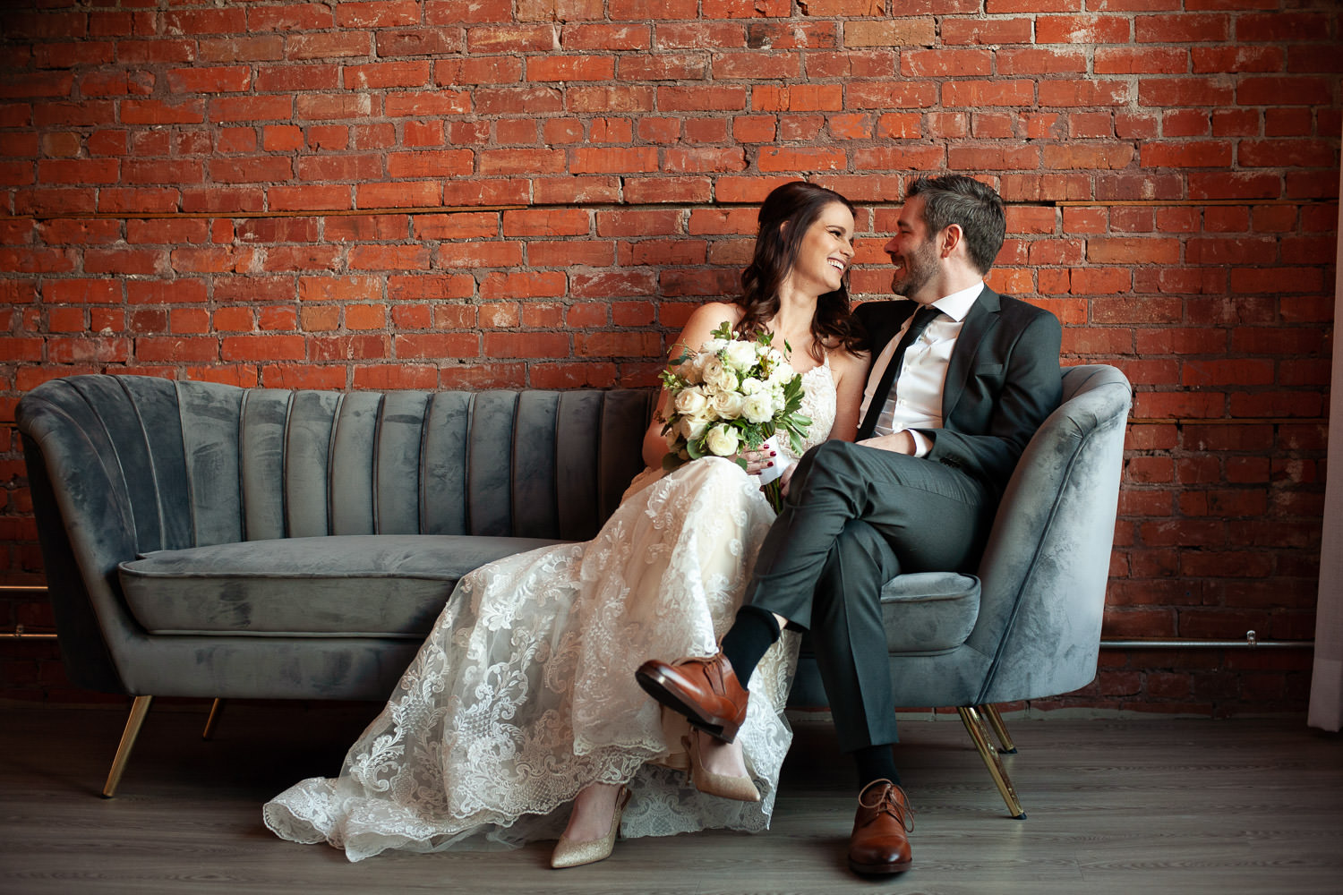 wedding portraits at Venue 308 captured by Tara Whittaker Photography